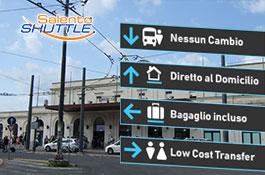 navetta da stazione di Lecce